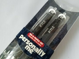 Kyle Personally Me Personalized Name Pen & Pencil Set Ballpoint Retractable - $12.55