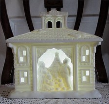 PartyLite VICTORIAN MANOR House Christmas Holiday Tealight Candle Holder... - $29.95