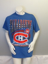 Vintage Montreal Canadiens Shirt - Oversize Front Graphics - Men's Extra... - $45.00
