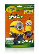 Despicable Me Minions Crayola Googly Eye Show Colouring Book Pad - 04-58... - $9.76