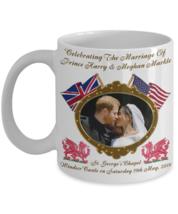 Prince Harry And Meghan Markle Royal Wedding Dragon Commemorative Coffee... - $14.84+