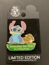 Walt Disney World Stitch Groundhog Day 2006 Pin Trading Limited Edition ... - $34.99