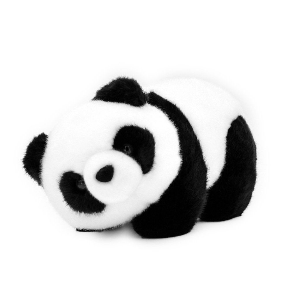 Pandoll Cute Plush Panda Stuffed Animals Dolls Panda Bear Baby Toy 6.5""