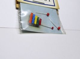 Tiny Xylophone Toy dhs1101 Doll House Shoppe Miniature - $3.75