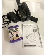 Panasonic Palmcorder PV-L501D VHS-C Camcorder w/Charger and accessory kit - $37.39