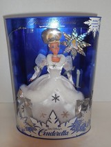 New Disney CINDERELLA Holiday Princess Barbie Doll 1996 Special Edition ... - $30.02