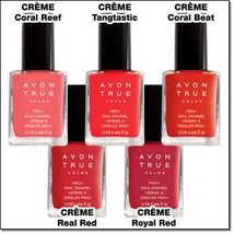 "Avon True Color Pro+ Nail Enamel ""Coral Beat"" - $5.99"