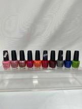 (10) OPI Nail Lacquer Nail Polish Lot Full Size No Repeats/Duplicates Bu... - $29.69