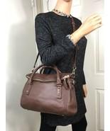 NWOT Kate Spade cobble hill small Leslie Brown Leather Satchel Bag WKRU2483 Rare