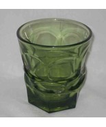 "NEAT Vintage 4"" Green HENRY FORD MUSEUM Drinking Glass - $24.00"