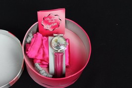 Vintage Barbie 1995 Starlight Waltz Wristwatch Pink Box Accessory Fits G... - $27.07