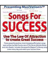 Musivation's Songs for Success: Use the Law of Attraction [With Lyrics a... - $14.95