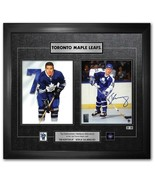 Tim Horton Börje Salming Print NHL Toronto Maple Leafs Signed Limited Ed... - $379.99