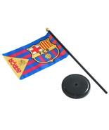 F.C. Barcelona Table Flag BC - $27.99
