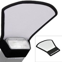 Flash Diffuser Reflector Softbox For Most Kins Of SLR Camera Photography... - $2.79