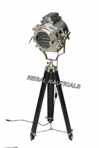 HOLLYWOOD STUDIO FLOOR LAMP SEARCH LIGHT SPOT LIGHT WITH TRIPOD STAND - €231,91 EUR