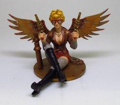 "Steampunk Lady Double Gun Assasin Statue 5""Tall - $35.51"