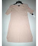 NWT New Designer Natori Night Gown Short Womens M Sleep Shirt Lace Pink ... - $123.50