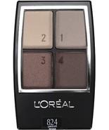 L'Oreal Paris Wear Infinite Eye Shadow Quad, 0.16 Ounce (Landscape) - $22.00