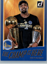 2017-18 Panini Donruss - The Champ is Here #1 Kevin Durant - $1.73
