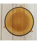 "Vintage Amber Color Round Depression Glass Plate 6"" D - $29.99"