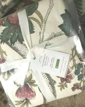 Pottery Barn Resi Duvet Cover Ivory King Floral Palampore No Shams  - $98.35
