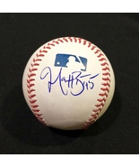 MATT BEATY AUTOGRAPHED Hand SIGNED O.M.L. BASEBALL Los Angeles DODGERS w... - $79.99