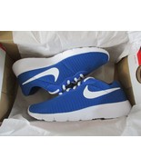 BNIB Nike Tanjun (W) (GS) AR9864 boys shoes, 4Y, Wide width, royal blue/... - $48.50