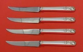 "Mansion House by Oneida Sterling Silver Steak Knife Set 4pc HHWS  Custom 8 1/2"" - $247.10"