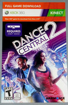 Dance Central 2 Kinect xbox 360 game Full download card code [DIGITAL] - $3.87