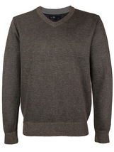E-38 Italy Men's Slim Fit Luxury Wool Zip Up Pullover Hoodie Cardigan Sweater image 12