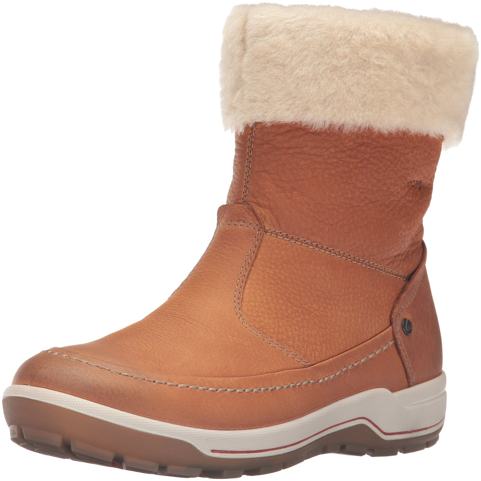 Primary image for ECCO Women's Trace W Snow Boot, Amber/Sand, 38 EU/7-7.5 M US