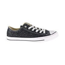 Converse Chuck Taylor All Star Ox Glitter Low Top Women's Shoes Black 56... - $60.00