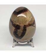 """198g, 2.5""""x1.9"""" Natural Polished Septarian Egg, gemstones @Madagascar,MS... - $12.80"""