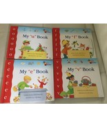 Lot of 4 My First Steps to Reading book kindergarten sight words I can r... - $14.84