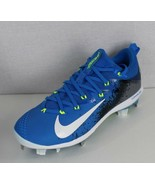 Nike bsbl Lunarlon mens vapor baseball cleats blue gray size 7 - $27.80