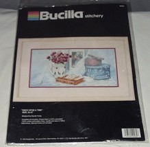 "Bucilla Stitchery Once Upon A Time Embroidery Kit  #40282 8""x16"" 1990  - $17.81"
