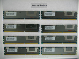 64GB 8x8GB PC3-10600 DDR3 1333MHz ECC Reg Memory for Dell PowerEdge