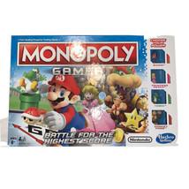 Nintendo Super Mario Gamer Edition Monopoly Board Game Brand New - $16.82