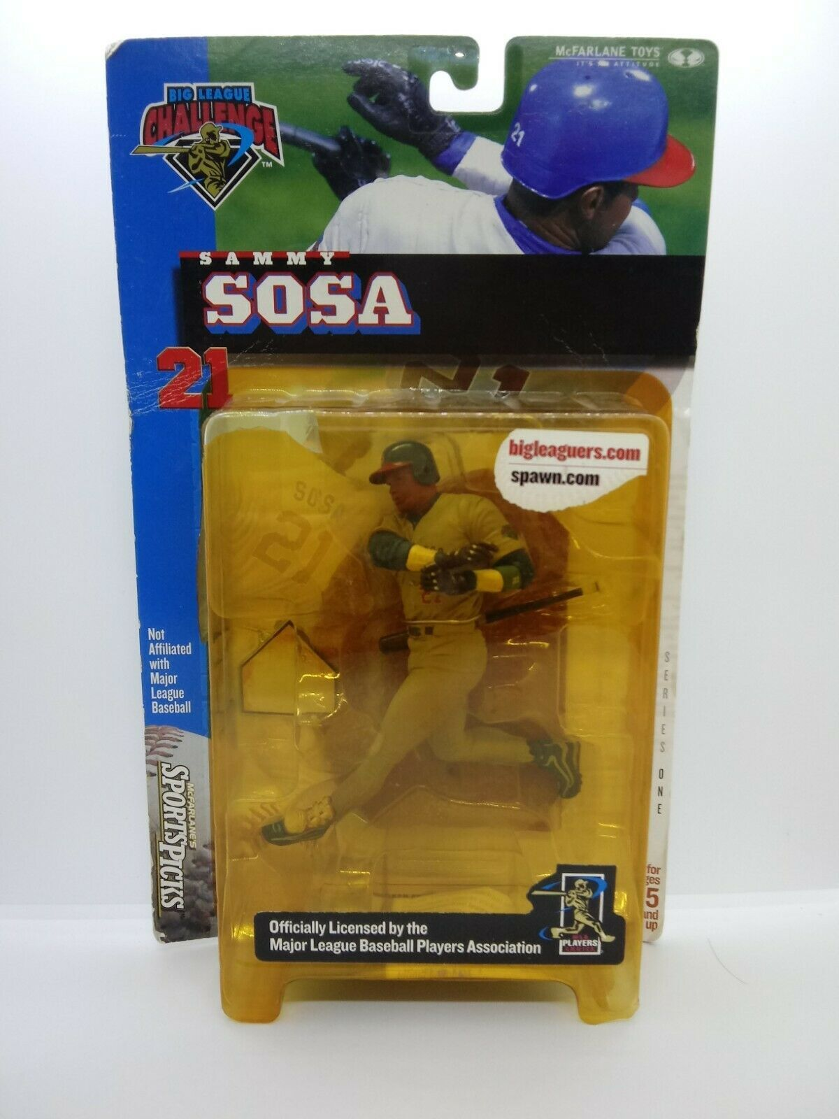 Primary image for McFarlane MLB Sammy Sosa Chicago Cubs Series 1 Big League Challenge Figure