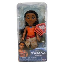 "Disney Moana 6"" Petite Doll with Outfit Shoes Comb Jakks Pacific Brand New - $19.79"