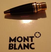 MontBlanc Boheme pen replacement parts Mont Blanc Lower Barell Black Gold - $93.49