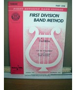 First Division Band Method Trumpet Part 1 (1962, Paperback) - $8.99