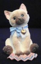 "Enesco Calico Kittens ""Siamese"" 1997 - $14.95"