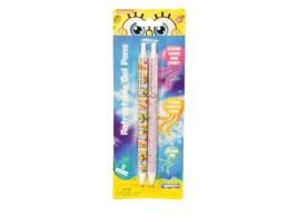 Spongebob Squarepants 0.5mm Gel Pen 2 Pack (158-4) Back to School