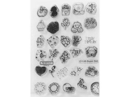 Close to My Heart Super Set Clear Acrylic Stamp Set #C1146