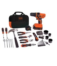 Black and Decker Drill Set 20 Volt Lithium Ion Kit - $88.05