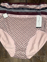 Adrienne Vittadini ~ Women's Brief Underwear Panties Cotton Blend 5-Pair... - $28.05