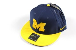 New NIKE Michigan Wolverines Football Vapor Dri-Fit Vented Snapback Hat ... - $25.21