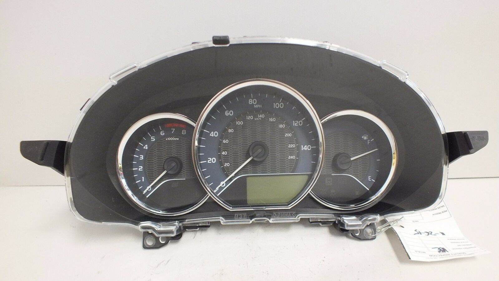 Primary image for 14 15 16 TOYOTA COROLLA LE 1.8L CVT INSTRUMENT CLUSTER 838000ZX00 (12k mi)#1229D